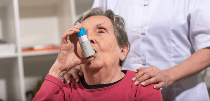Important tips for inhaler use in the PACE population.